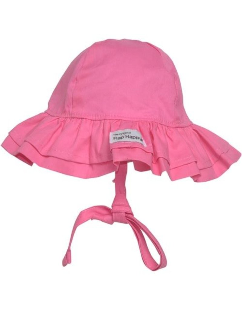 Flap Happy Flap Happy - Double Ruffle Hat
