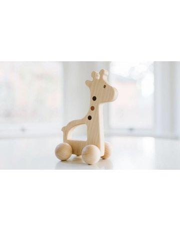Bannor Toys Bannor Toys Giraffe Push Toy