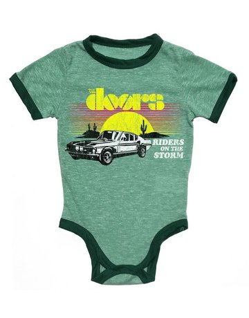 Rowdy Sprout Rowdy Sprout - Ringer Onesie The Doors 3-6