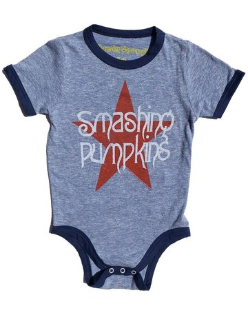 Rowdy Sprout Rowdy Sprout - Ringer Onesie Smashing Pumpkins 6-12
