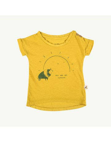 Red Caribou Teardrop Kids T-Shirt