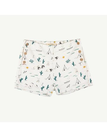 Red Caribou French Terry Short