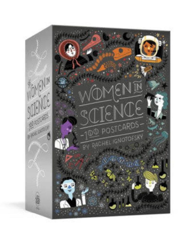 Children's Book - Women in Science 100 Postcards