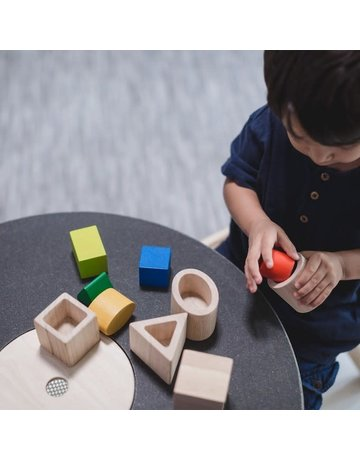 Plan Toys, Inc. Plan Toys - Geo Matching Blocks