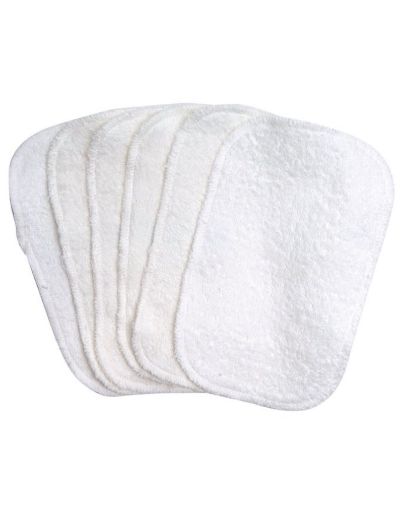 Under The Nile Terry Baby Wipes 6 Pack