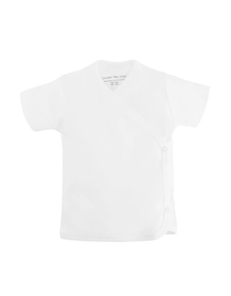 Under The Nile Short Sleeve Side Snap T-Shirt
