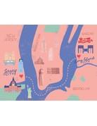 Katie Pea Studio Katie Pea Studio - Maps 8x10