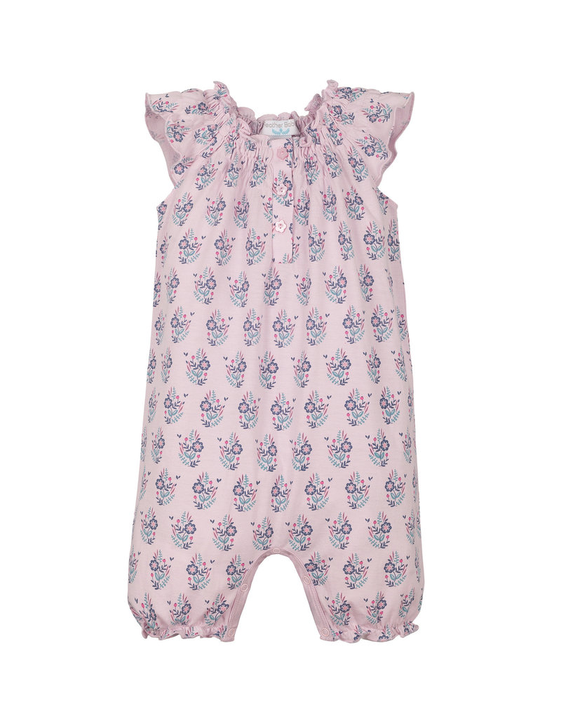 Feather Baby Feather Baby 100 Yoke Romper