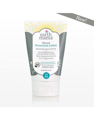 Earth Mama Organics Earth Mama - Mineral Sunscreen Lotion SPF 25