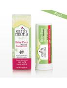 Earth Mama Organics Earth Mama - Baby Face Mineral Sunscreen Stick SPF 40