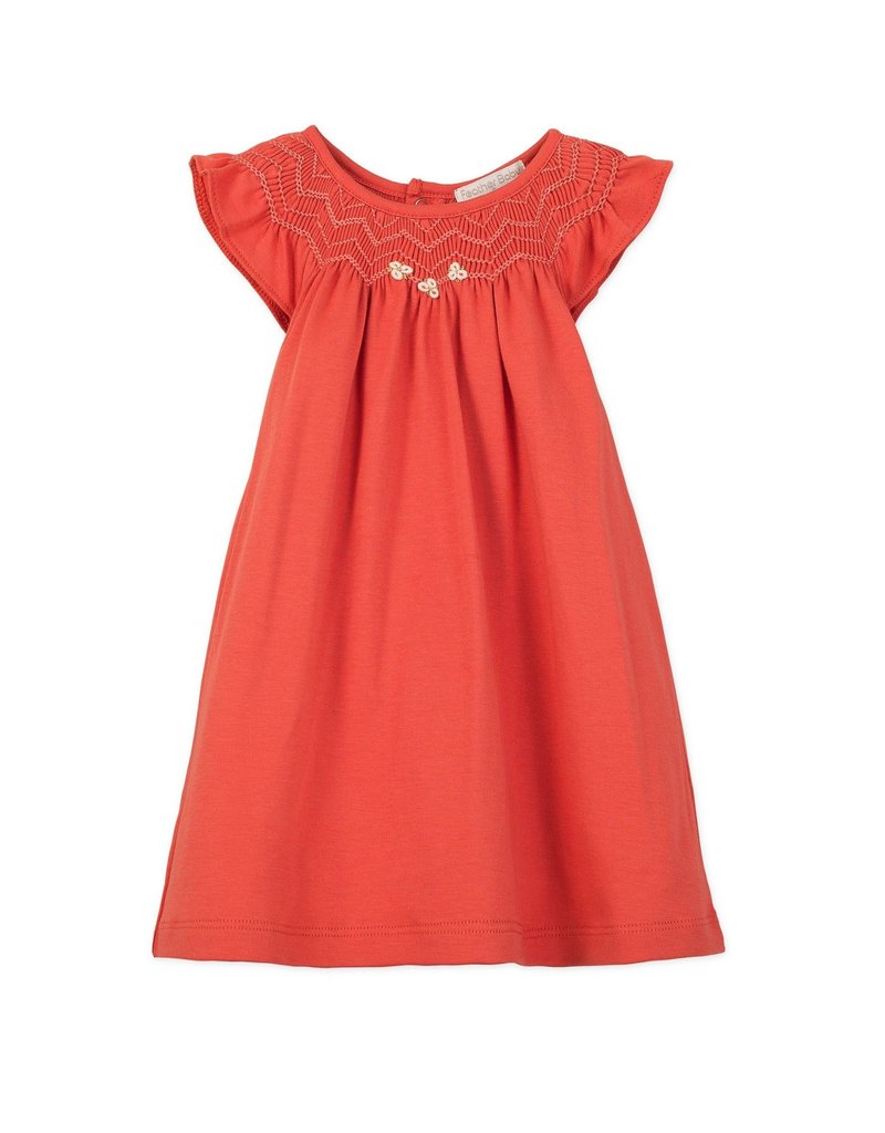 Feather Baby Feather Baby Hand Smock Dress + Bloomer Toddler