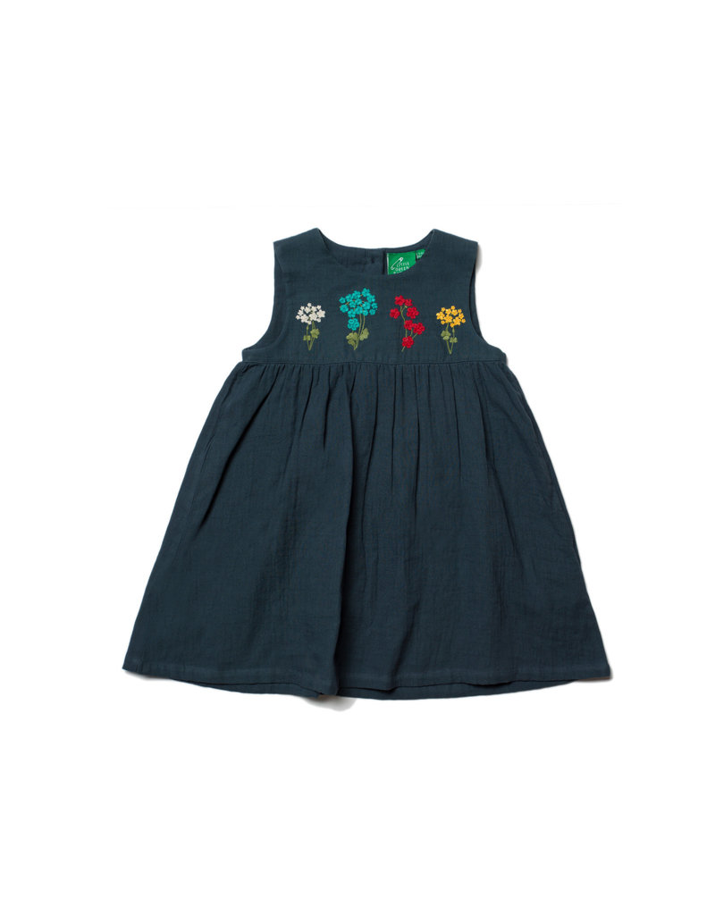 Little Green Radicals - Embroidered Dress