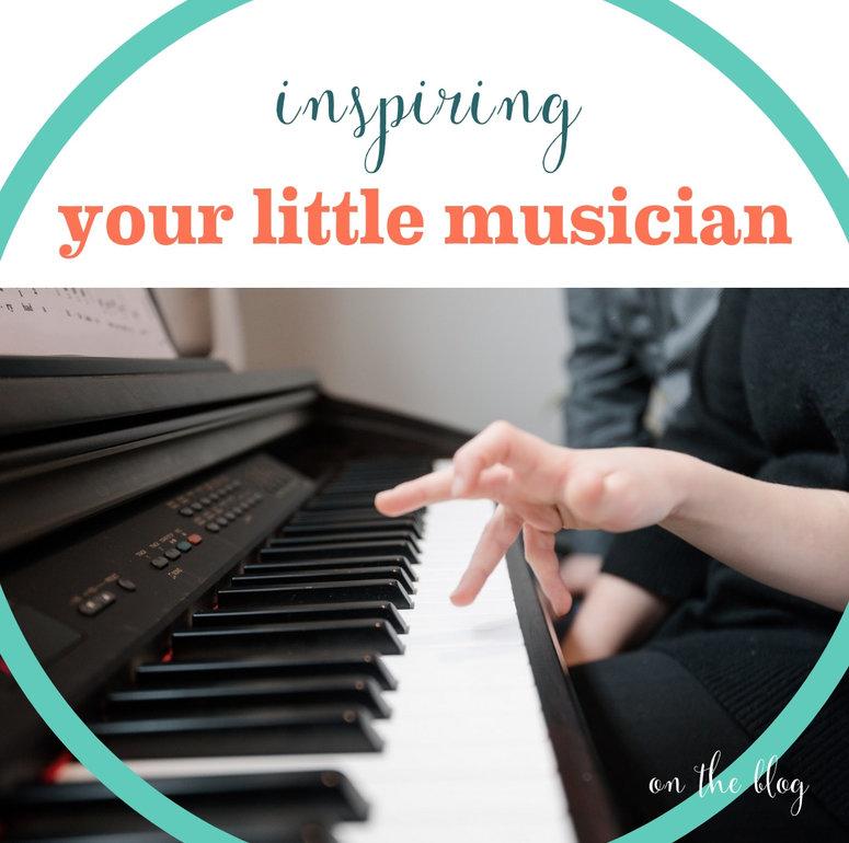 Inspiring Your Little Musician