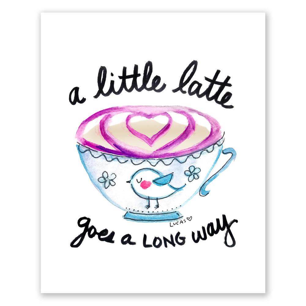 Latte a day