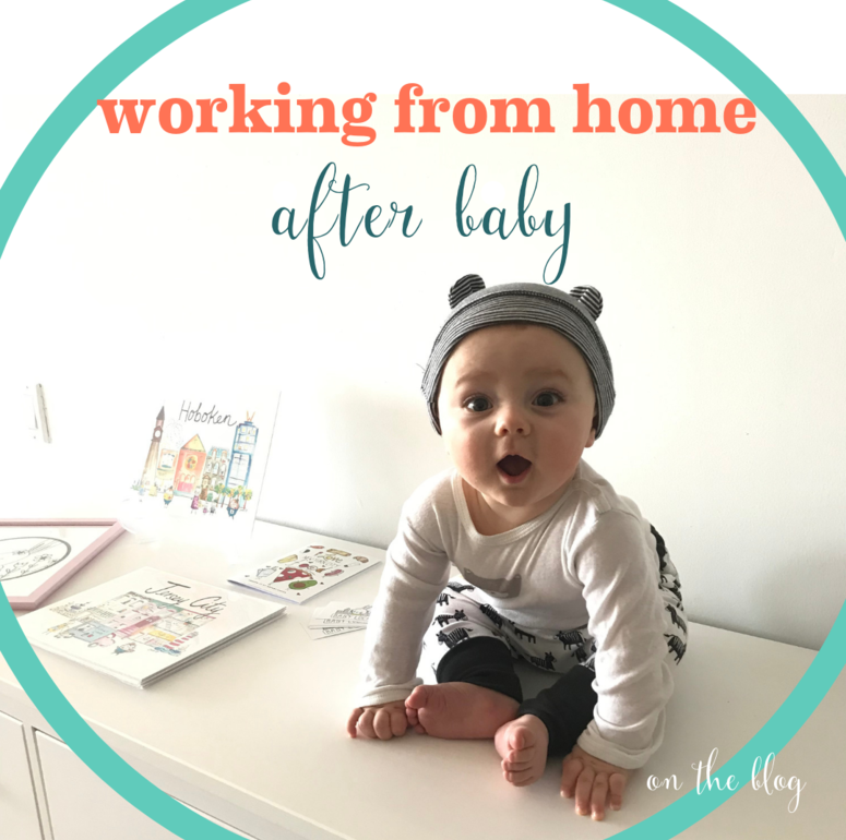 Working from Home After Baby