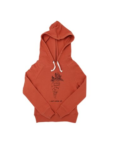 L'ovedbaby L'ovedbaby - Graphic Hooded Sweatshirt Maple Carrot 5/6