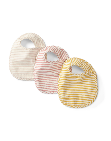 Pehr Designs Petit Pehr - Stripes Away Bib Set of 3