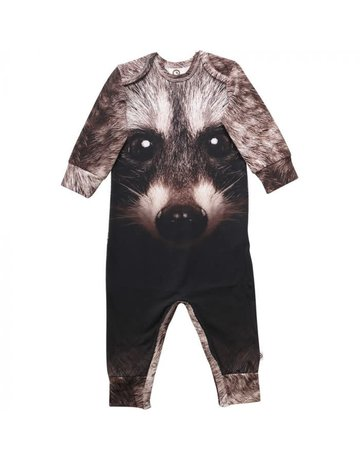 Musli Musli Cozy Me Spicy Raccoon Bodysuit