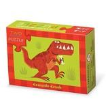 Crocodile Creek Crocodile Creek - Two-Sided Puzzle