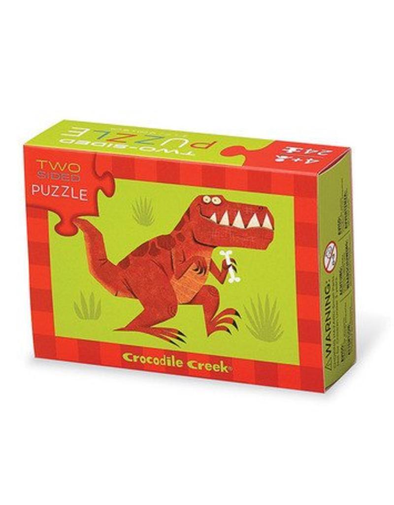 Crocodile Creek Crocodile Creek Two-Sided Puzzle