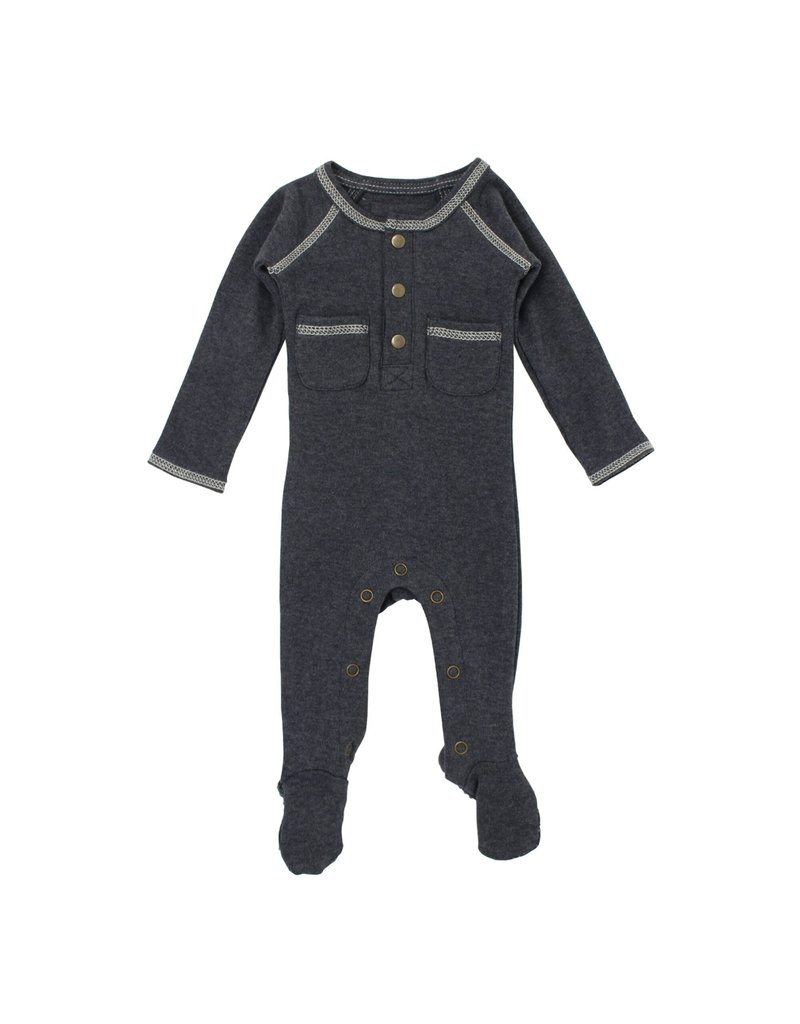 L'ovedbaby L'ovedbay - Pocket Footed Overall