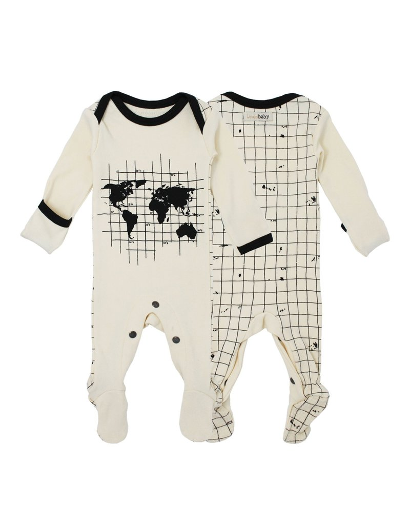 L'ovedbaby L'ovedbaby - Lap Shoulder Footed Overall