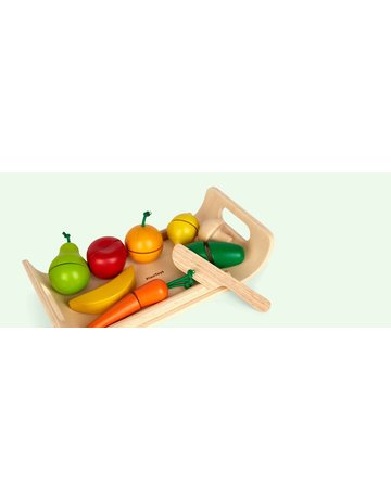 Plan Toys, Inc. Plan Toys Assorted Fruit & Vegetables