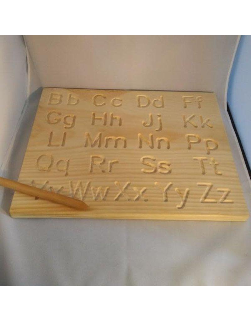 Toy Maker of Lunenburg Toy Maker of Lunenburg - Alphabet Tracing Board