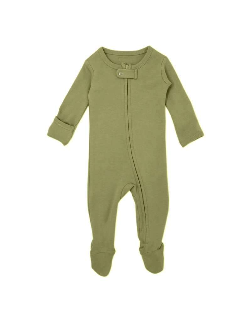 L'ovedbaby L'ovedbaby Organic Zipper Footed Overall