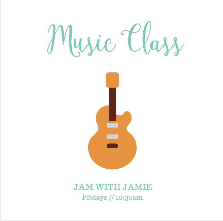 Music Class  // Jam With Jamie