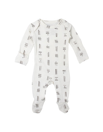 L'ovedbaby L'ovedbaby - Lap Shoulder Footed Overall Tribe
