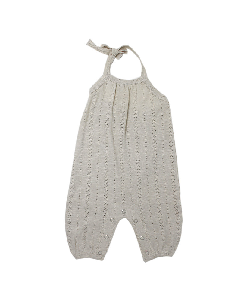L'ovedbaby L'ovedbaby - Pointelle Tie Romper