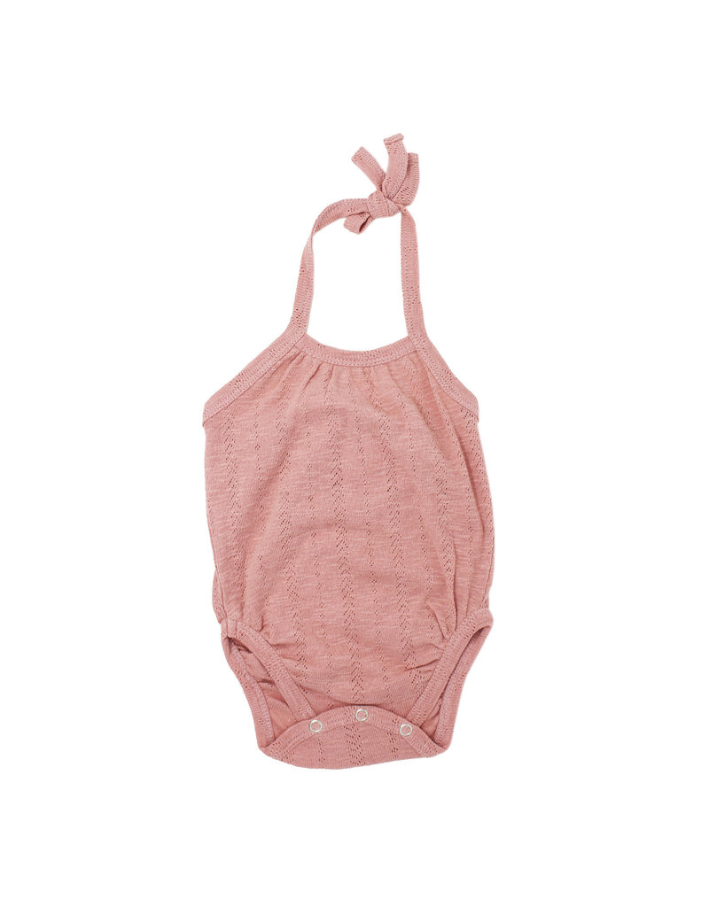 L'ovedbaby L'ovedbaby - Pointelle Crossback Bodysuit