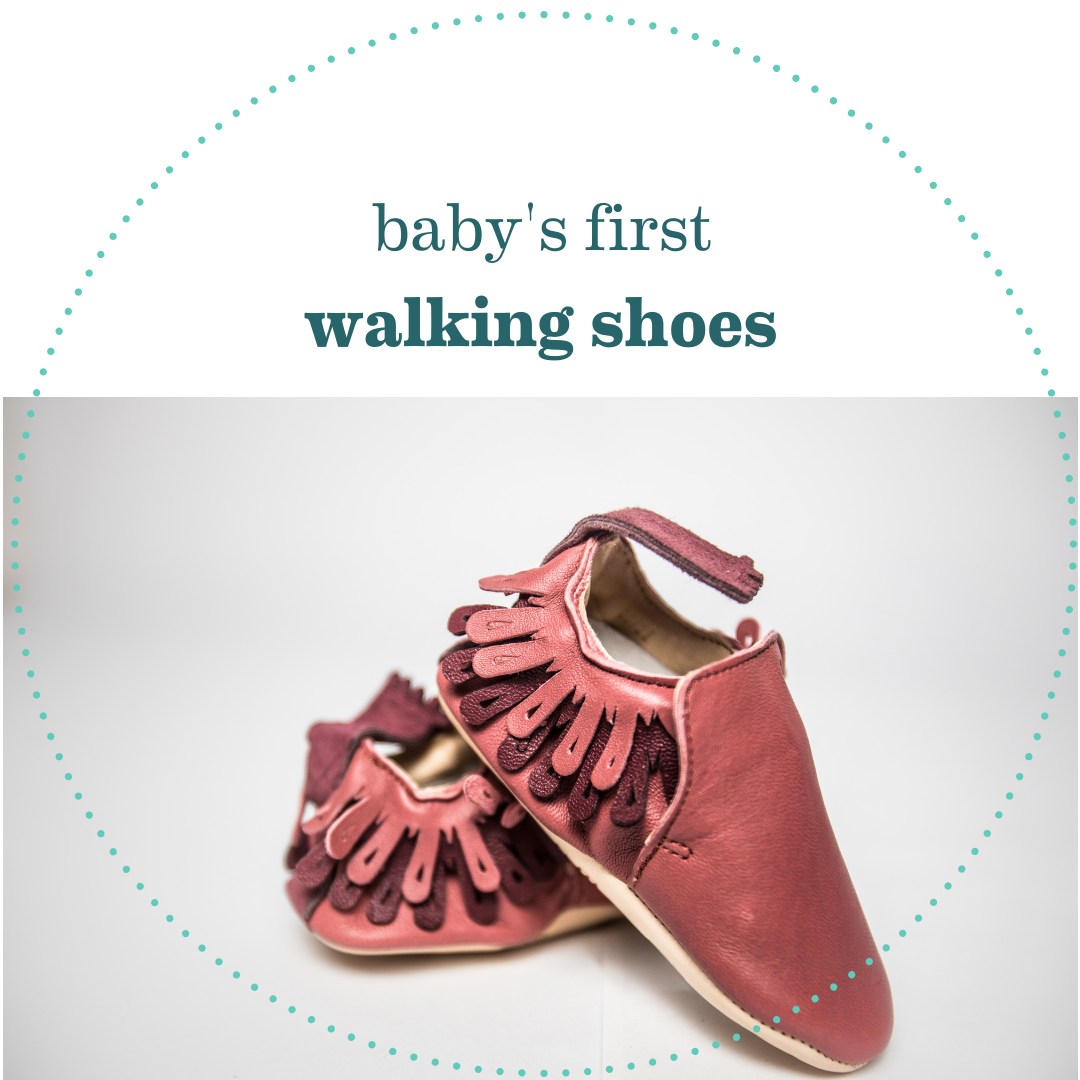 Baby's First Walking Shoes