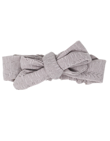 L'ovedbaby L'ovedbaby - Pointelle Tie Headband