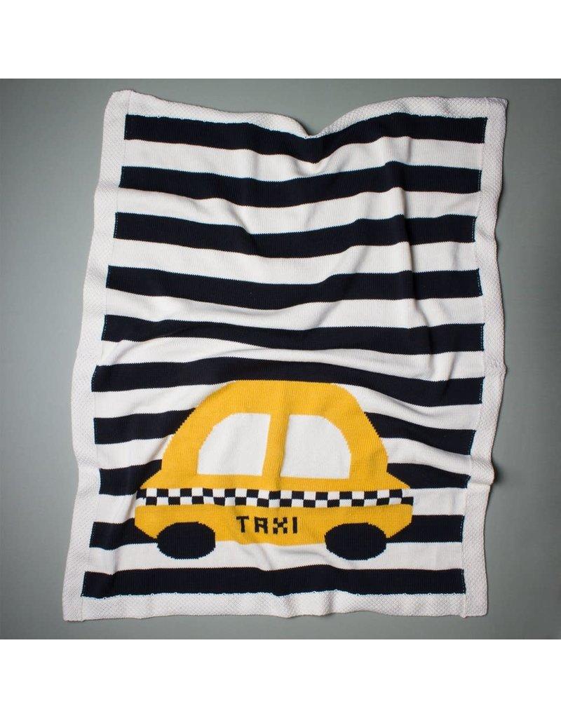 Estella - Large Organic Taxi Blanket