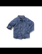 Blu & Blue Blu & Blue David Chambray Linen Shirt