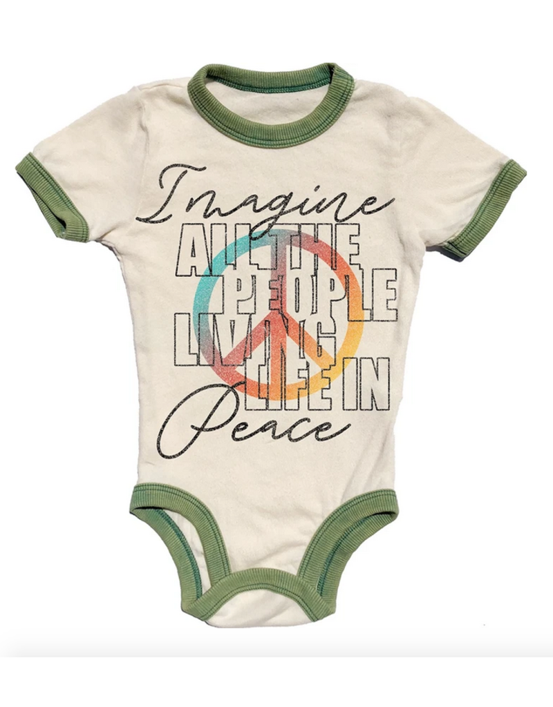 Rowdy Sprout Rowdy Sprout - S/S Ringer Onesie