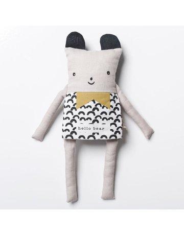 Wee Gallery Flippy Friends- Bear