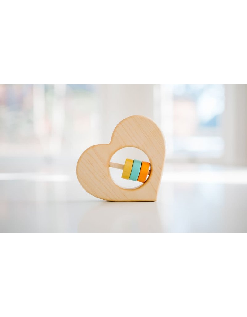 Bannor Toys Bannor Toys - Heart Rattle