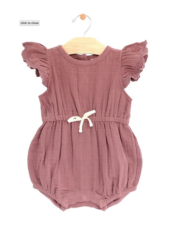 City Mouse - Muslin Waist Romper