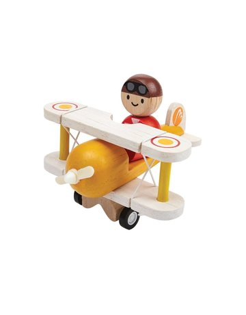 Plan Toys, Inc. Plan Toys Classic Airplane and PIlot