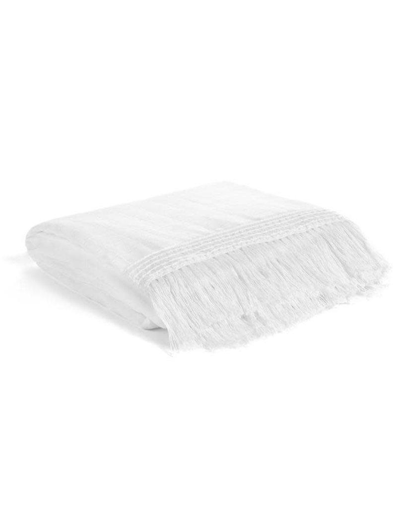 "Modern Burlap - Swaddle Blanket 47""x47"""