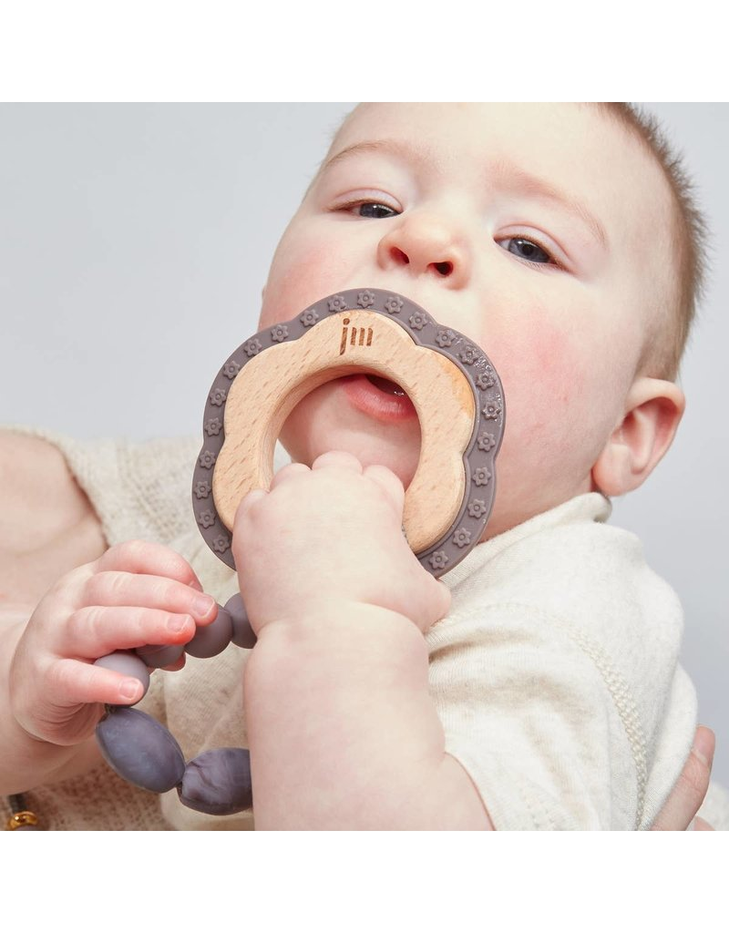 January Moon- Teether + Clip Set