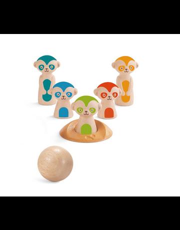 Plan Toys, Inc. Plan Toys Meerkat Bowling