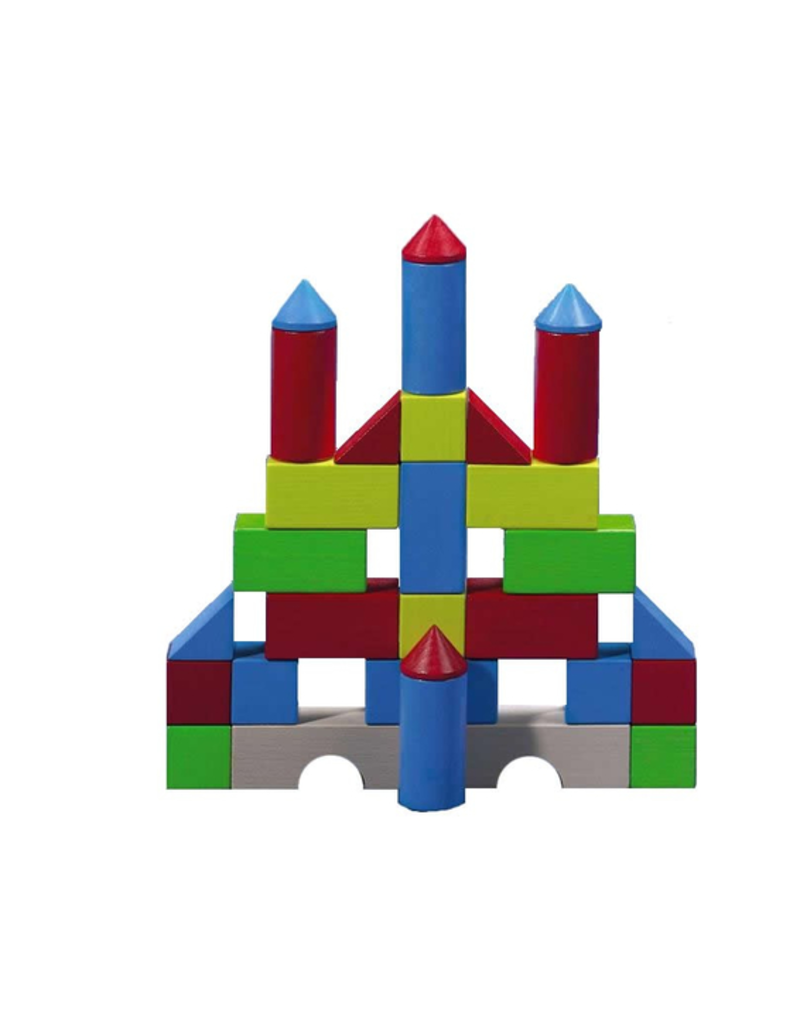 Haba Haba - Colored Building Blocks Set