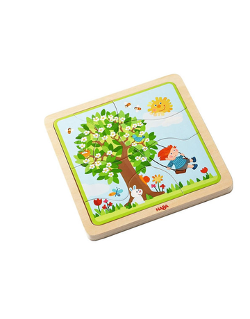 Haba Haba - Wooden Puzzle My Time of Year