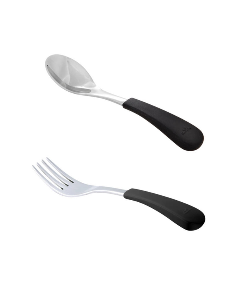 Avanchy Avanchy - Stainless Steel 2 Pack Combo Baby Fork/Spoon