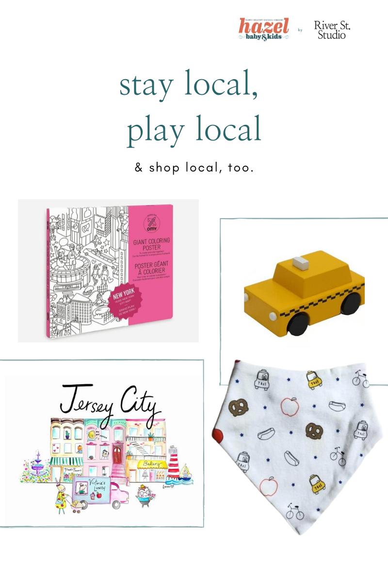 minimalist toy and urban nursery