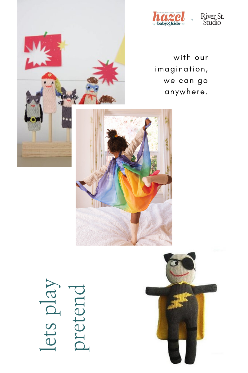 imaginative play dress up toys puppets